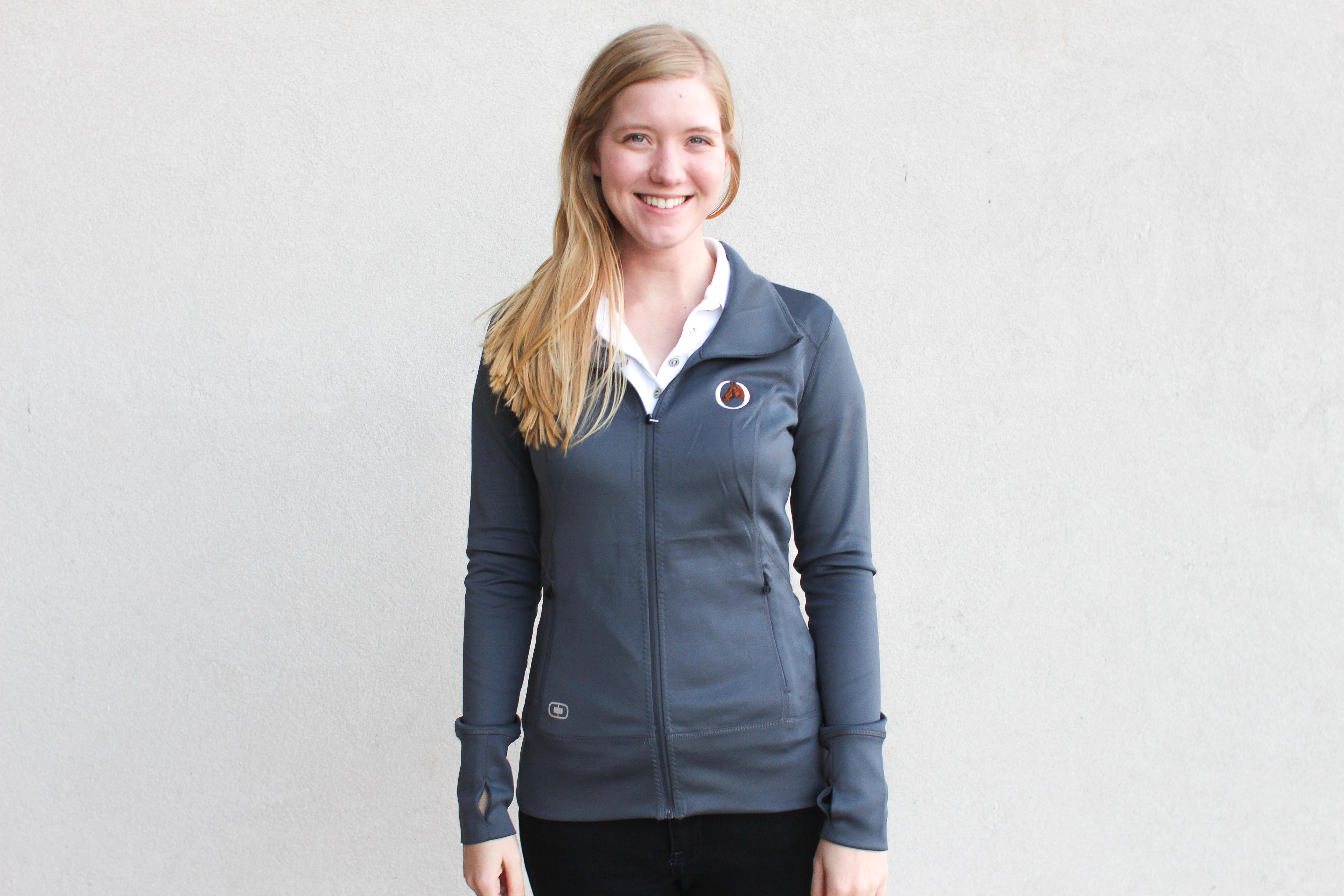 Equi Theme Ladies Turn 100/% Cotton Equestrian Tshirt WC Beige//Khaki